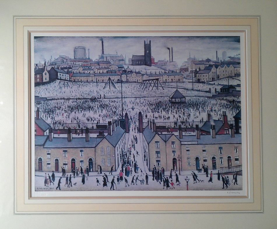 lowry britain at play signed print