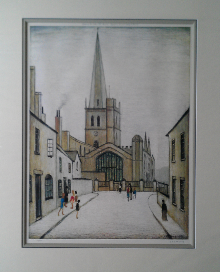 Burford church lowry