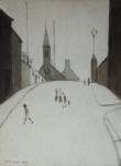 ls Lowry Church street Clitheroe