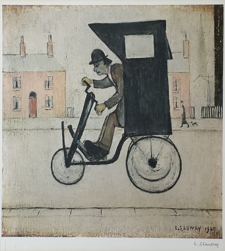 lowry contraption signed print
