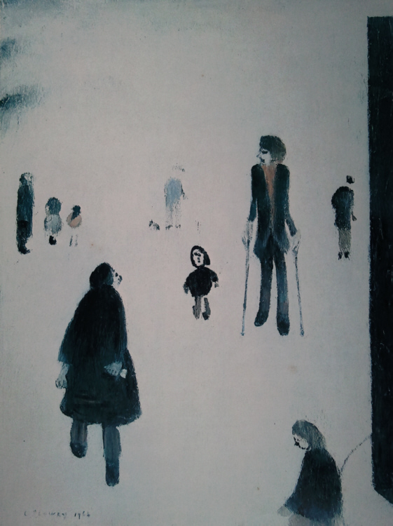 lowry figures in the park