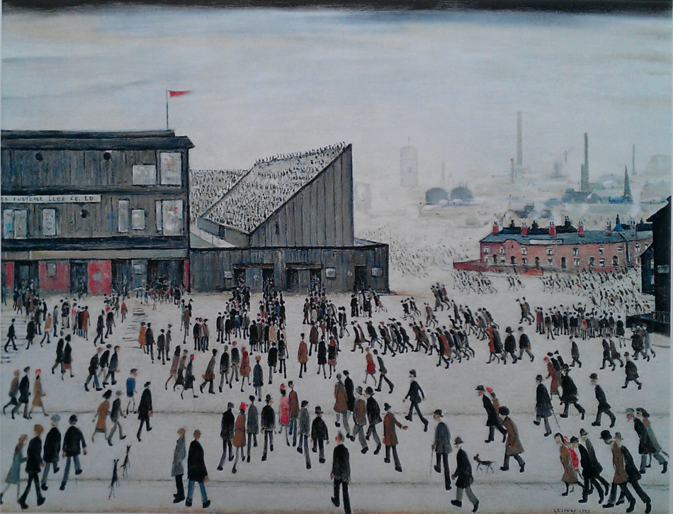 lowry going to the match lslowry