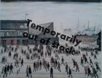 ls lowry Going to the matchprint