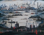 ls Lowry The lake