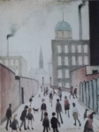 ls lowry mrs swindell's picture print