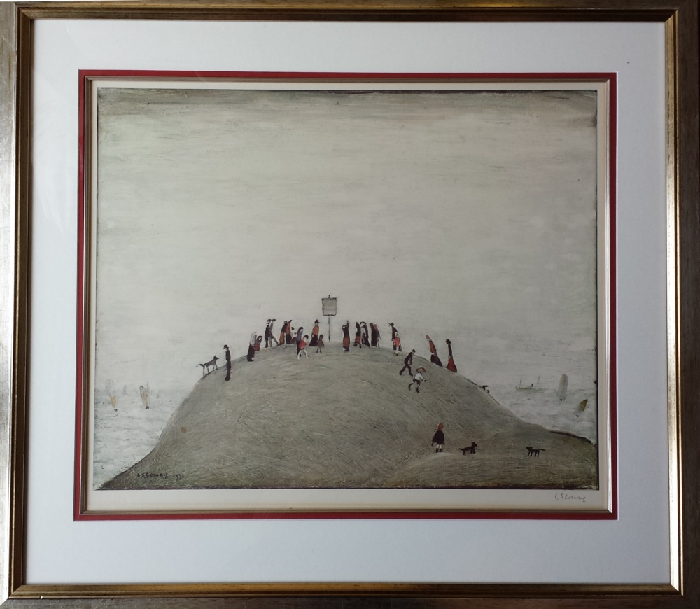 lowry notice board print
