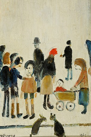 lowry valuable original painting