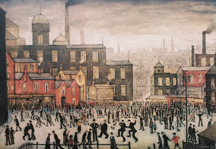 Our Town lowry print