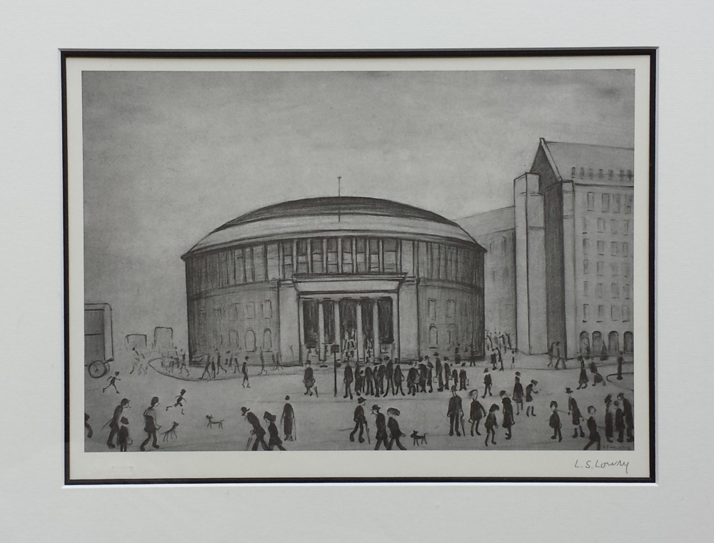 lowry reference library signed print