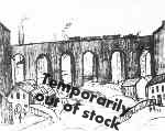 Viaduct Salford, Lowry original signed limited edition lithograph
